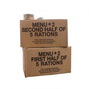 Emergency Food - Emergency Food Packet Manufacturing
